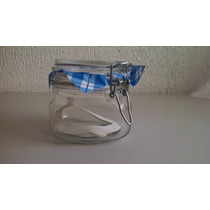 Frascos Y Recipientes Hermeticos De Cristal 0.500 Ml. / Kg