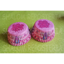 *capacillos Rosas Carruaje Princesas Flores Cupcake Fondant*