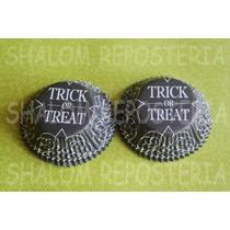 *capacillos Negros Trick Or Treat Halloween Wilton Cupcake*