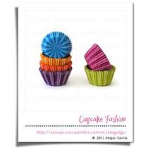 240 Capacillos Rayos Variado Estándar #73 Cupcake #1033