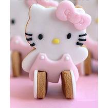 Cortador Galletas Hello Kitty 3d Pan Pasta Fondant Chocolate