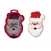 Cortador De Galetas Navideño Santa Claus