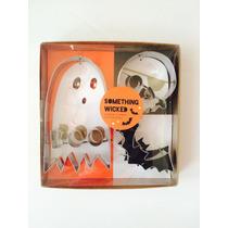 Cortador De Galletas Para Halloween Calavera, Fantasma, Murc
