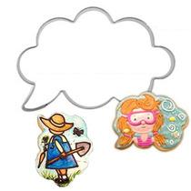Cortador Para Galletas Nube De Dialogo Super Multi Ideas