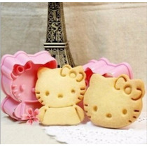 Cortador Platico Hello Kitty Galletas O Fondant Etc