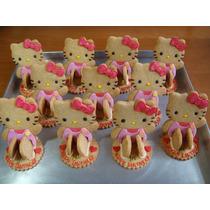 Cortador Hello Kitty 3d D Galletas Fondant Pan Chocolate