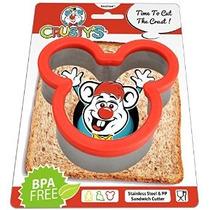 Mickey Mouse Sandwich Cortador De Crusty - Alta Calidad En A