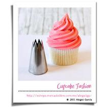 Duya 823/1m Estrella Abierta Jumbo Inoxidable Cupcake #661