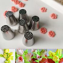 Duyas Rusas O Tulipan Set De 6 Piezas Diferentes Modelos