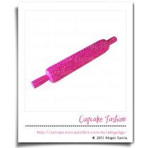 Rodillo Texturizador Rosas Textura Cupcake Fondant #1220