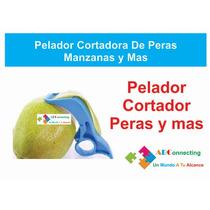 Practico Pelador Cortador Peras Manzanas Y Mas