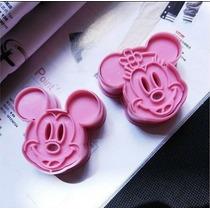 Cortadores De Galletas De Mickey Mouse Y Mimi Mouse
