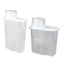 Especiero De Plástico 2 Medidas. ¡taza Medidora De Regalo!