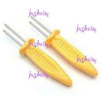 Sostiene Elote Mango Jicama Tipo Trinche Tenedor *nuevo