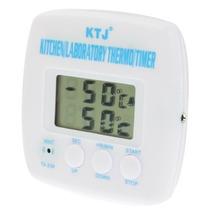 Termómetro Y Temporizador Digital Lcd, Cocina, Laboratorio