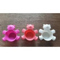 Moldes De Silicon Para Cupcakes En Forma De Oso 3pzs