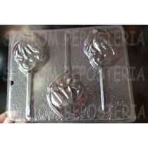 *molde Paletas De Chocolate Ben 10 Caras Grandes*