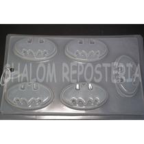 *molde Mediano Gelatinas Jabones Gomitas Logos Batman*