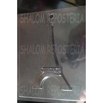 *molde Placa Chocolate Yeso Torre Eiffel 15 Años*