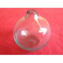Florero Esfera De Vidrio Soplado
