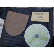Plato Disco Ruleta Binaria Antigua,decoracion Coleccion