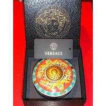 Versace Dulcero De Porcelana Alemana Rosenthal Oro 24 K