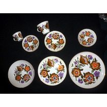 Antigua Vajilla En Porcelana Marca Nueva San Isidro