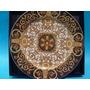 Versace Plato De Porcelana Alemana Rosenthal Oro 24 K