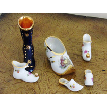 Zapatitos Miniaturas Limoges France Lote # 2