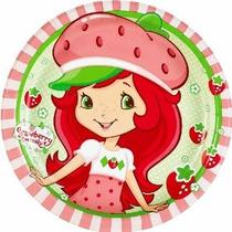 Strawberry Shortcake Postre Platos