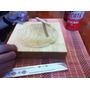 Plato Hondo De Madera Para Teppanyaki, Arroz Frito 20 X 20