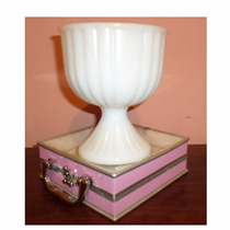 Copa De Vidrio De Leche Copa De Milk Glass