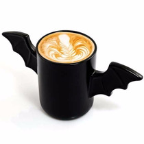 Taza De Ceramica Con Alas De Murcielago Bat Mug H1207