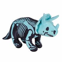 Dinosaurio Triceratops Esqueleto Que Brilla En La Oscuridad