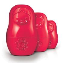 Set Tazas Medidoras Matryoshka Rojo Mcups Fred And Friends