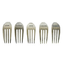 Conjunto De Tenedores Para Queso Rústicos