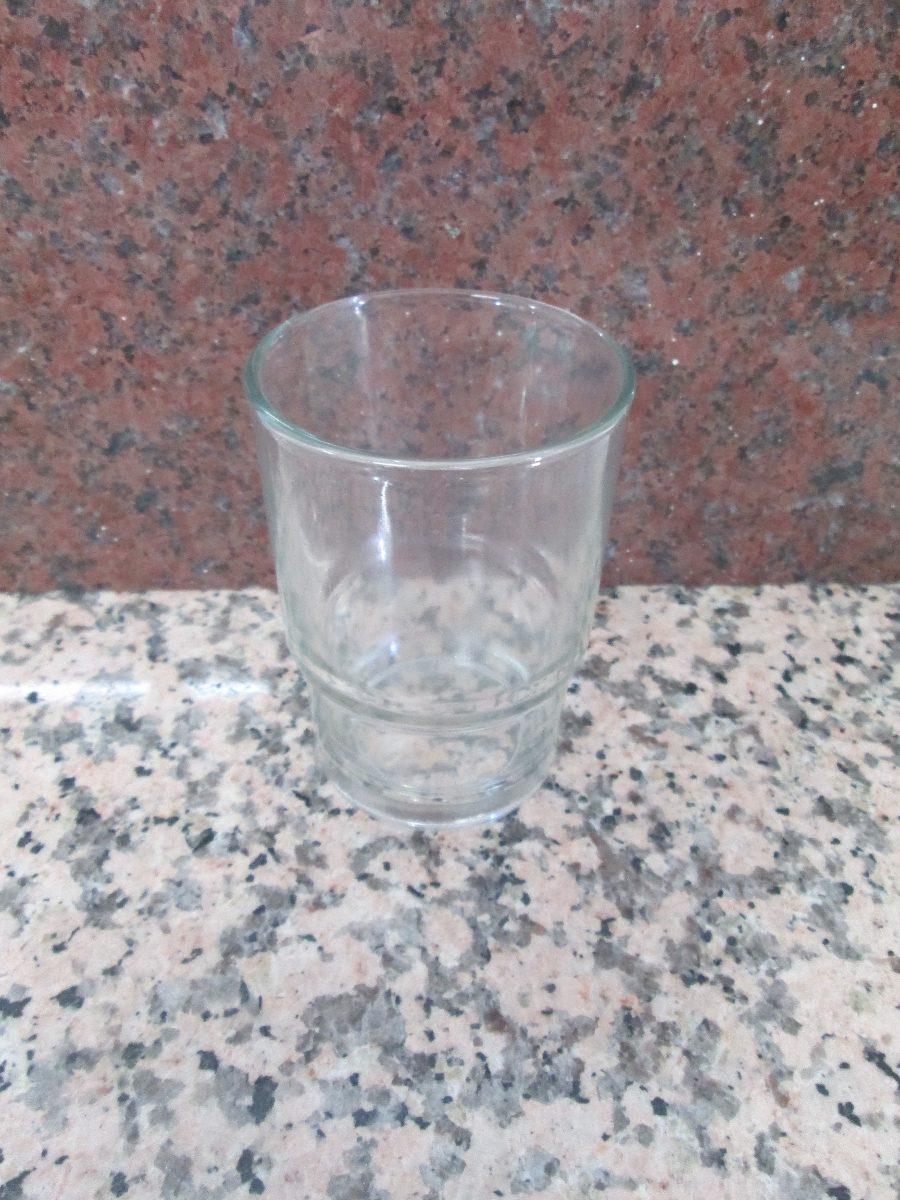 Vaso de vidrio para juego de ba o vv4 en for Precio de juego de bano