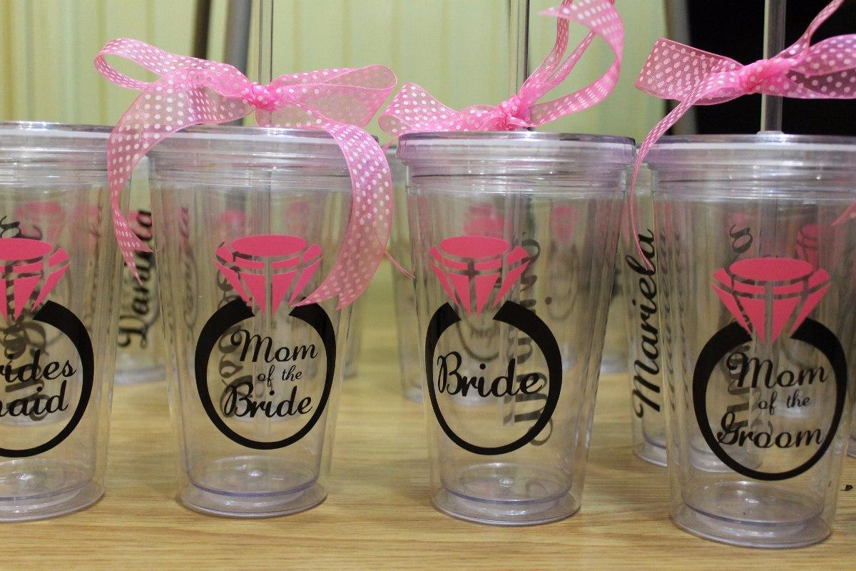 Vasos acr licos personalizados recuerdo para fiestas en mercadolibre - Vasos personalizados ...
