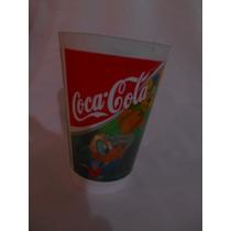 Vaso Cocacola Pato Donald, Daisy Gofy, Mikey Mini Pluto