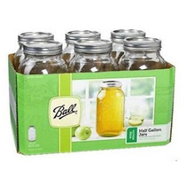 Frascos Ball Mason Jars 64 Oz. Boca Ancha