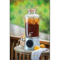 Dispensador De Bebidas (tipo) Mason Jars
