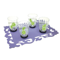 Set 4 Vasos Plastico 650 Ml Transparente Good And Good