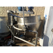 Marmita Nunca Usada Con Agitador,raspador Volteo 580 Lts