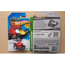 Red Bird Hot Wheels Angry Birds Die Cast 1/64 Americano