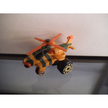 Helicoptero Apache Tipo Micro Machines Road Champs Vintage