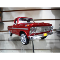 Ford F-100 Pick Up 1969 (vino) - Motormax - 1/24