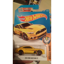 Hot Wheels De Coleccion 2016 15 Ford Mustang Gt Amarillo