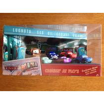 Set Disney Pixar Cars Mini Adventures 6 Autos Muy Raro !!!