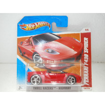 Hot Wheels Ferrari F430 Spider Rojo 190/244 2011
