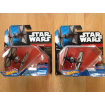 Set 2 Hot Wheels Star Wars Die Cast Tie Fighter # 2 Y # 8